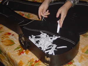 Putting the Names Into The Ukelele Case